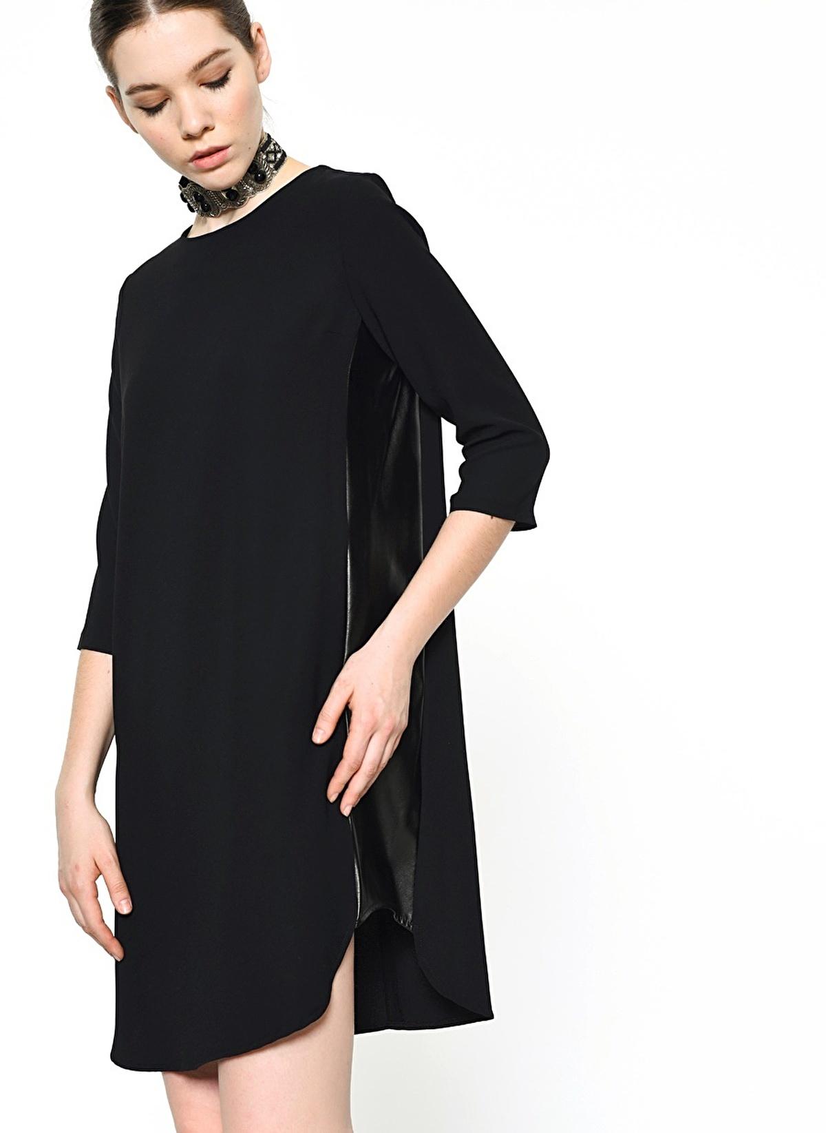 6bca9638ec885 Agenda Kadın Truvakar Kol Elbise Siyah İndirimli Fiyat | Morhipo ...